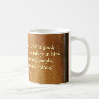 psalm 34 coffee mug