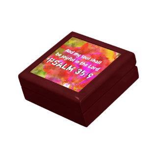 Psalm 35:9 gift box