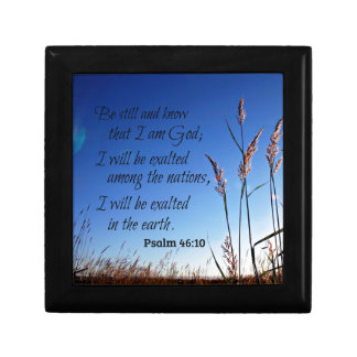 Psalm 46:10 Be still and know that I am God Gift Box