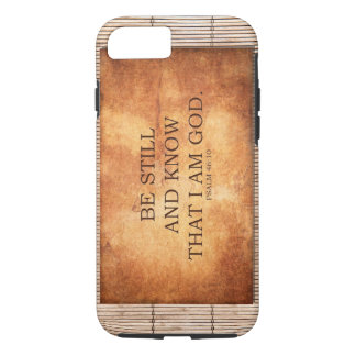 Psalm 46:10 Be still and know that I am GOD. iPhone 7 Case