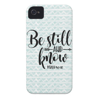 PSALM 46 10 BE STILL iPhone 4 CASES