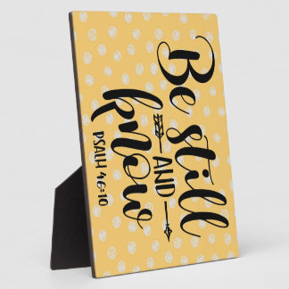 PSALM 46 10 BE STILL PLAQUE