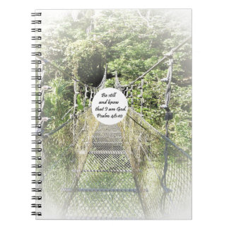 Psalm 46: 10 spiral notebook