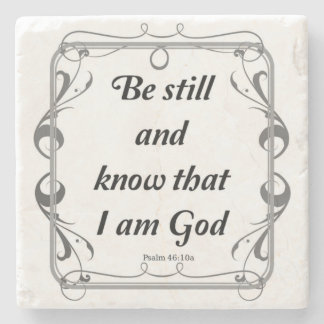PSALM 46-10 STONE COASTER