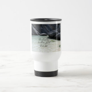 Psalm 46:10 travel mug