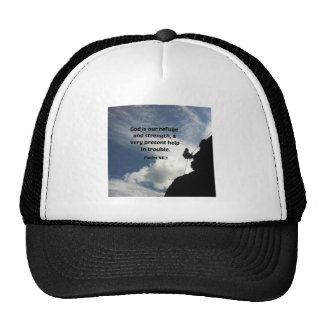 Psalm 46:1 God is our refuge and strength... Trucker Hat