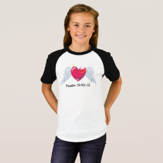Psalm 51 Children's baseball tee