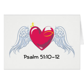 Psalm 51 Greeting Card