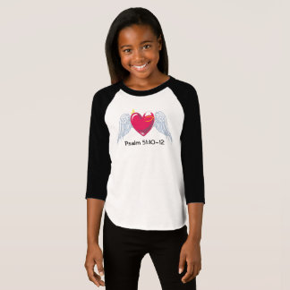 Psalm 51 youth baseball tee