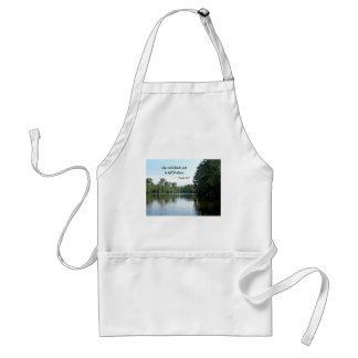 Psalm 62 1 My soul finds rest in God alone Apron