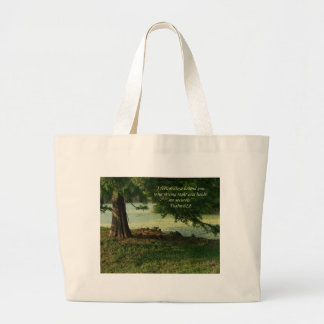 Psalm 62:1 Psalm of Encouragement Tote Bag