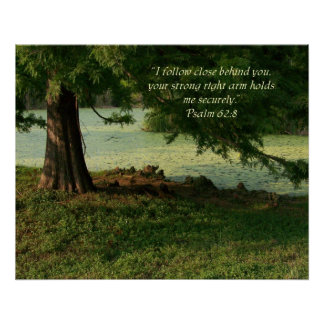 Psalm 62:8 Psalm of encouragement Poster