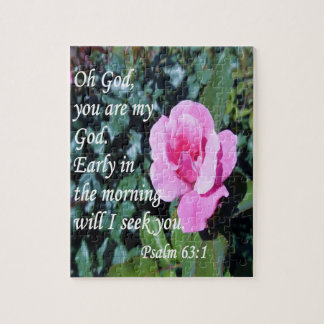 Psalm 63 jigsaw puzzle