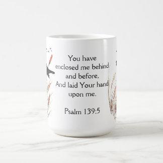 Psalm 65:5 Bible Scripture You Answer Blackbird Coffee Mug