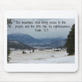 Psalm 72:3 Mousepad