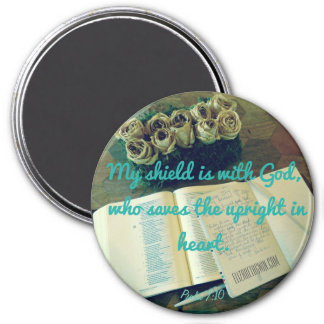 Psalm 7:10 magnet