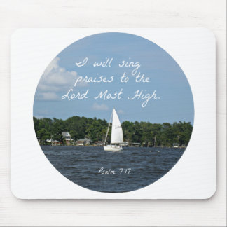 Psalm 7 17 I will sing praises Mousepads
