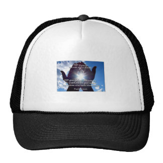 Psalm 84:11 trucker hat