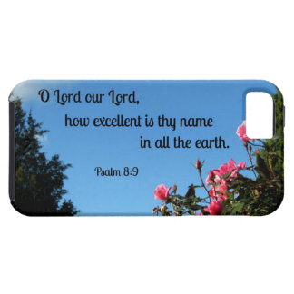 Psalm 8:9 O Lord our Lord, how excellent is thy... iPhone 5 Cover