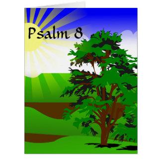 Psalm 8 Encouragement Card