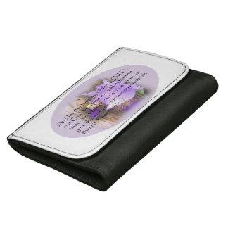 Psalm 90:17 KJV Bible verse Women's Wallet
