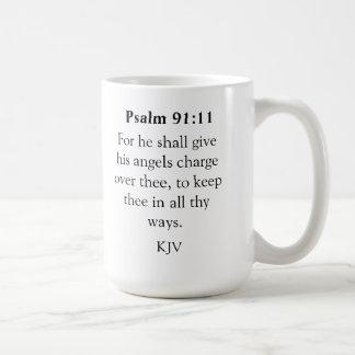 Psalm 91:11 Mug
