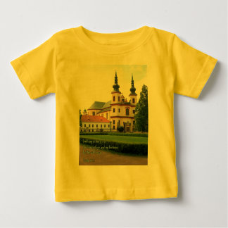 Psalm 91:2 Czech Church Baby T-Shirt