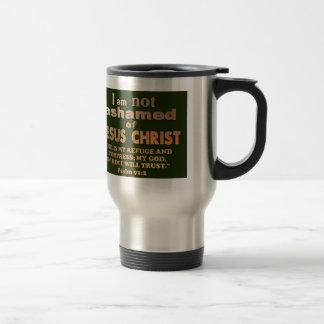 Psalm 91:2 travel mug