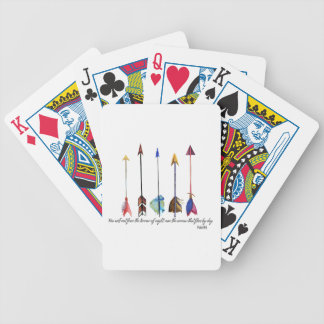 Psalm 91 Arrow Poker Deck