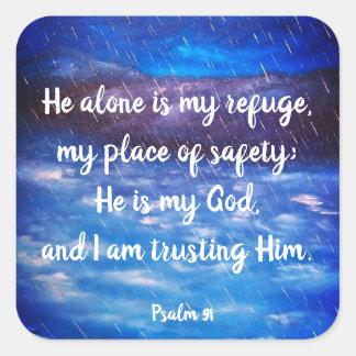 Psalm 91 Christian Scripture Stickers