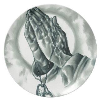 Psalm 91 dinner plate