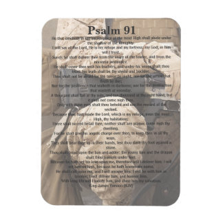 Psalm 91, God's Protection, Soldier Magnet