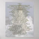 Psalm 91 NIV Poster