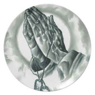 Psalm 91 plate