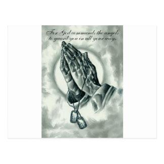 Psalm 91 postcard