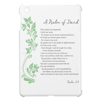 Psalm of David The Lord is my Shepherd Bible Verse Case For The iPad Mini