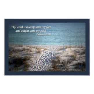 Psalms 139:105 poster