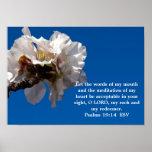 Psalms 19:14 poster