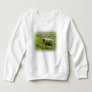 Psalms 23:1 Toddler Sweatshirt