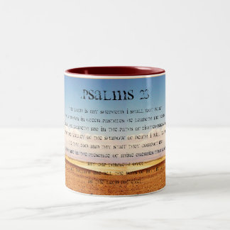 Psalms 23 Coffee Mug