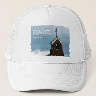Psalms Bible Verse Steeple Christian Hat