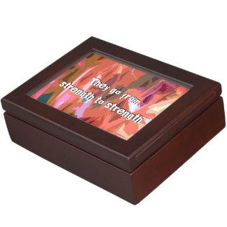 Psalms chapter 84 keepsake box