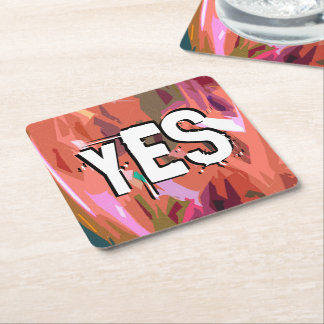 Psalms chapter 84 square paper coaster