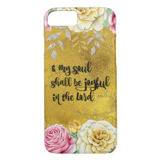 Psalms Joy Bible Verse iPhone 8/7 Case