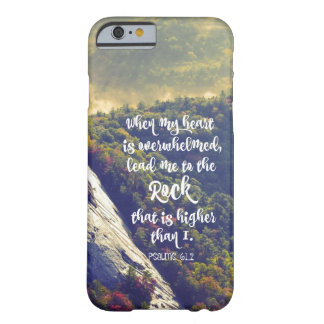 Psalms: Lead me to the Rock Bible Verse Barely There iPhone 6 Case
