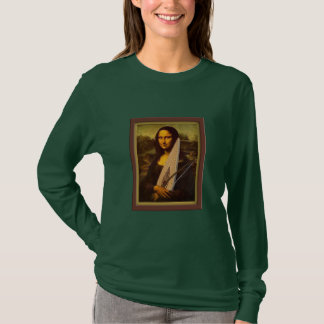 Psaltery Mona Lisa - Ladies T-Shirt