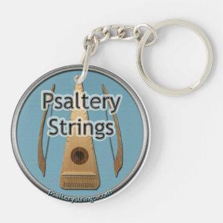 Psaltery Strings Network Logo Key Chain