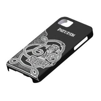 Pseudim Mjolnir Black iPhone 5 Case
