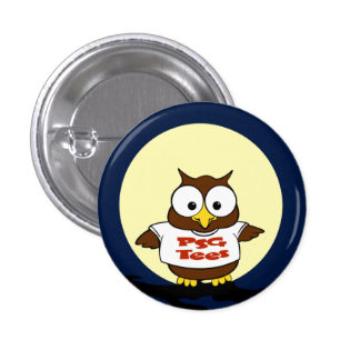 PSG Tees Hoot Pin