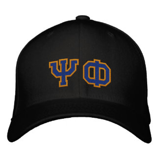 Psi Phi Fan Embroidered Hat
